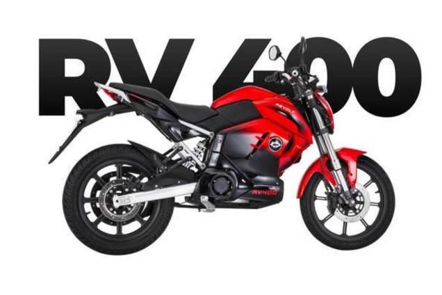 Электромотоцикл RV 400
