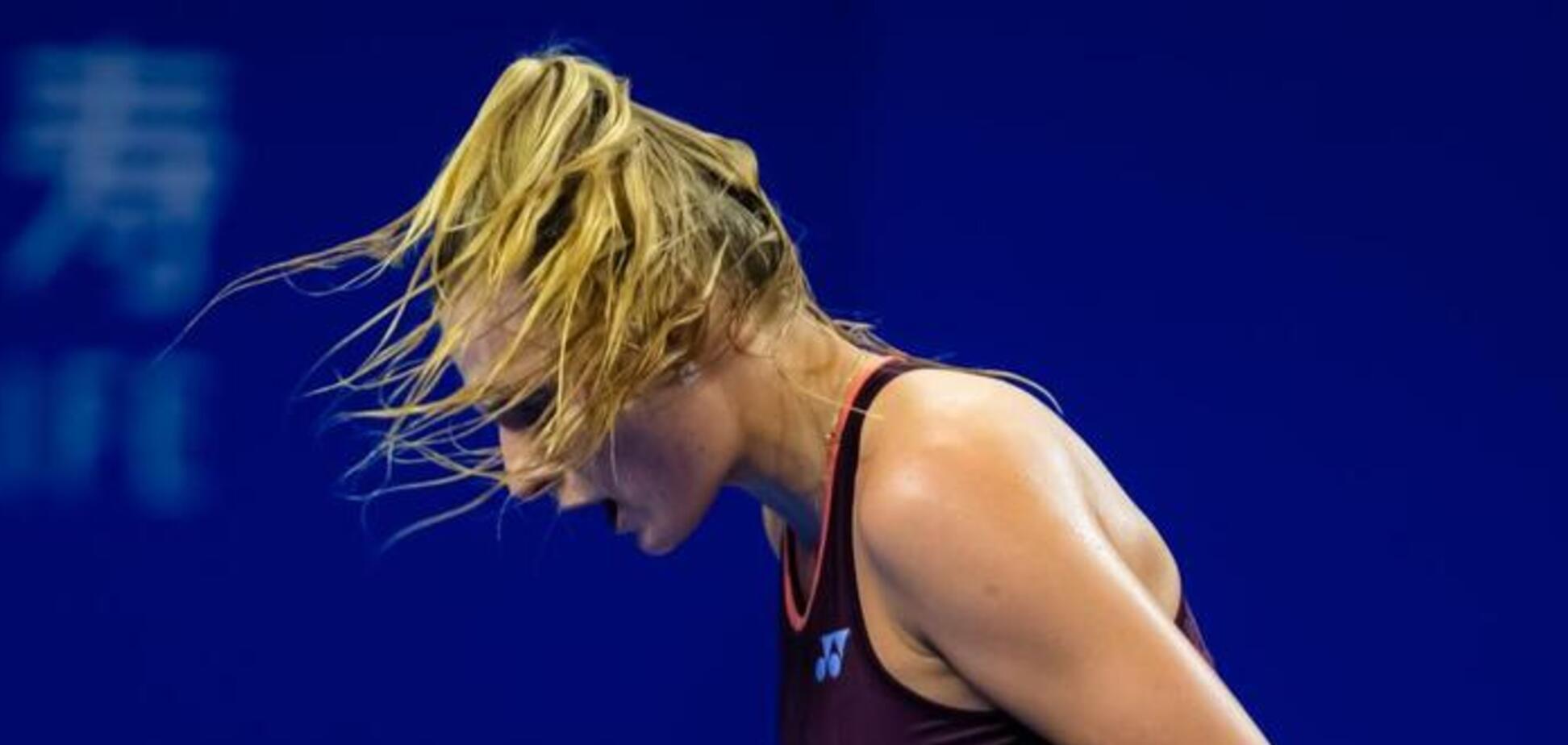 Юна українська тенісистка здобула драматичну перемогу на старті супертурніру в Китаї