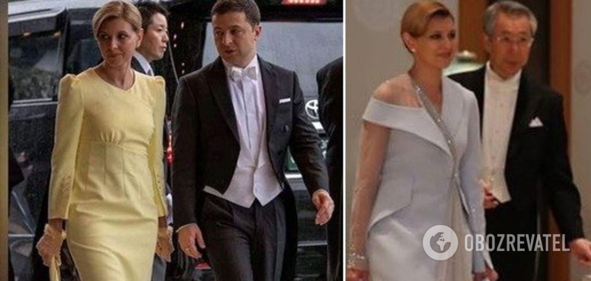 Дизайнер платья Елены Зеленской объяснил ее образы в Японии