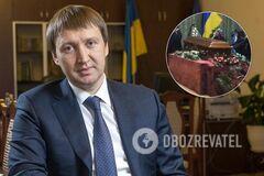В Киеве простились с погибшим в авиакатастрофе экс-министром. Фото и видео