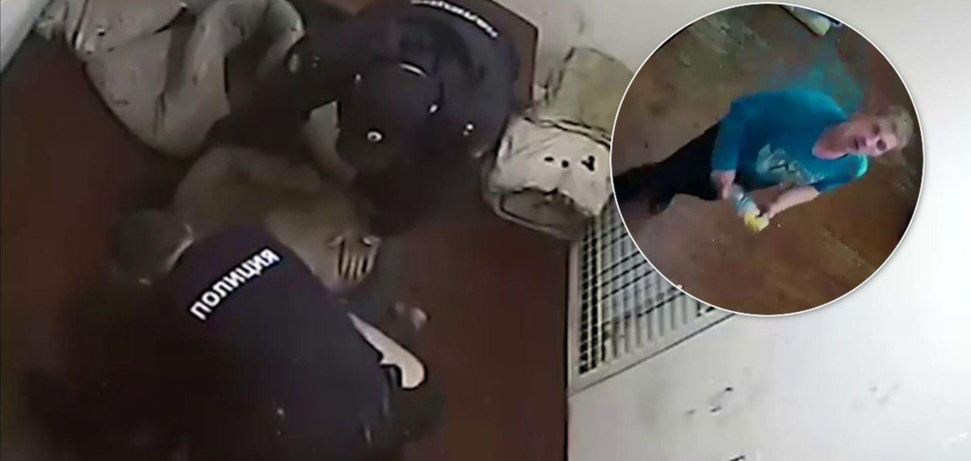 Российский футболист сварился заживо в полиции: появилось видео из камеры