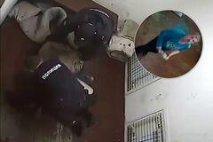 Російський футболіст зварився заживо в поліції: з'явилося відео з камери