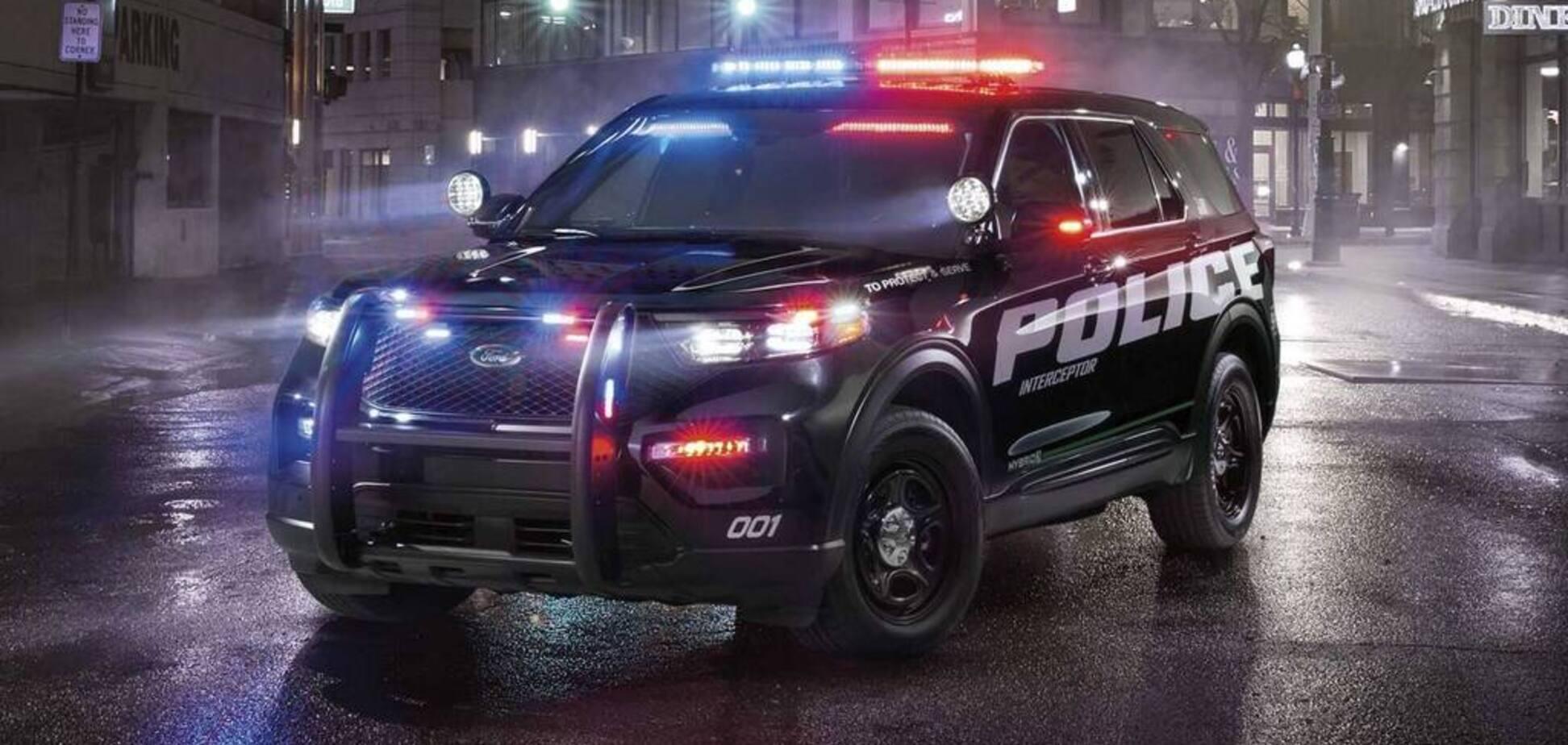 Американська поліція пересяде на гібридні позашляховики: як вони мають вигляд