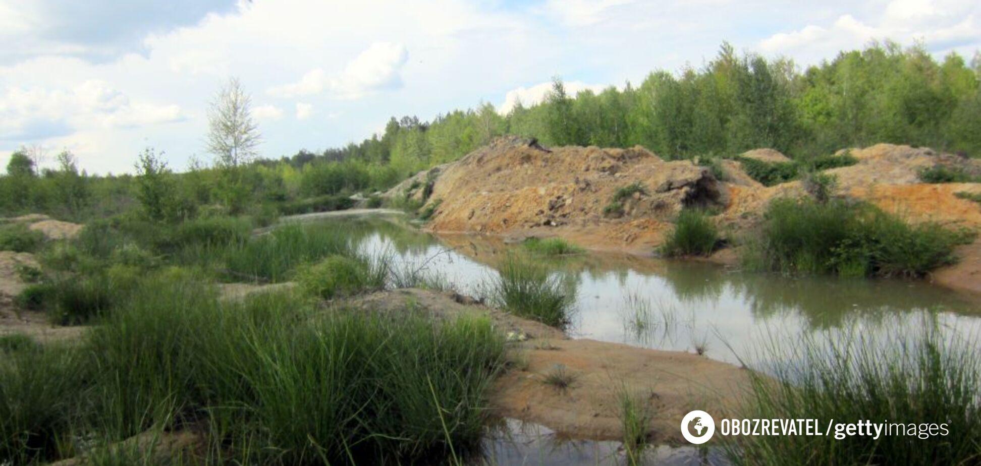 'Получим лунные ландшафты': копателей янтаря обвинили в экологической катастрофе на западе Украины