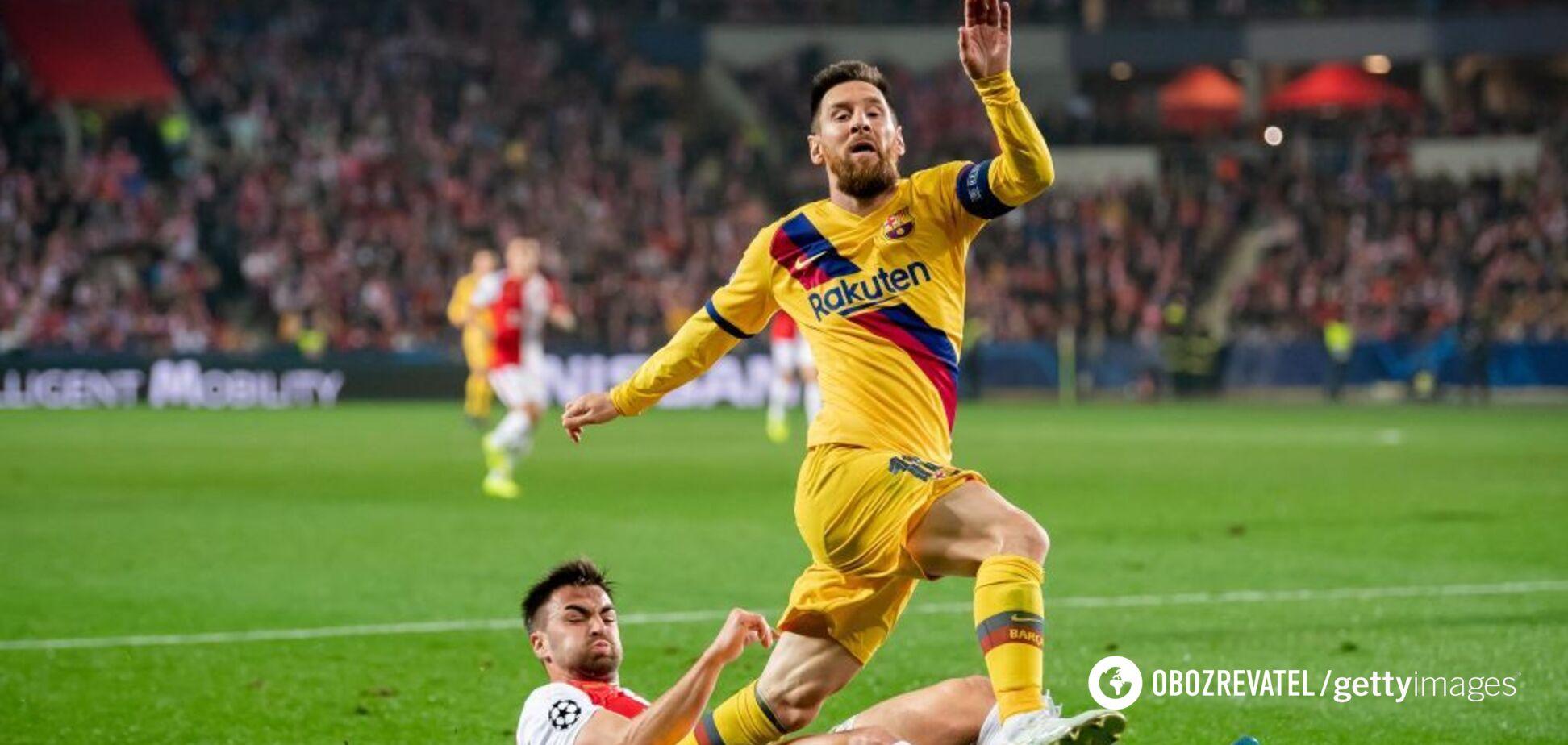 Месси установил исторический рекорд Лиги чемпионов