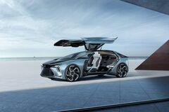 Два крила і чотири електромотори: Lexus показав незвичайний концепт