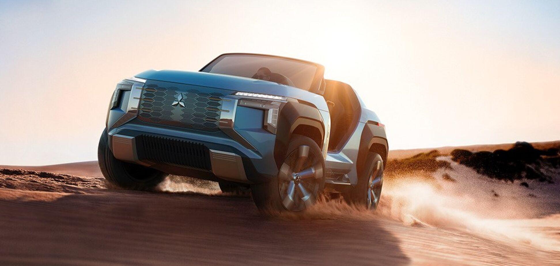 Новий позашляховик Mitsubishi може їздити на гасі