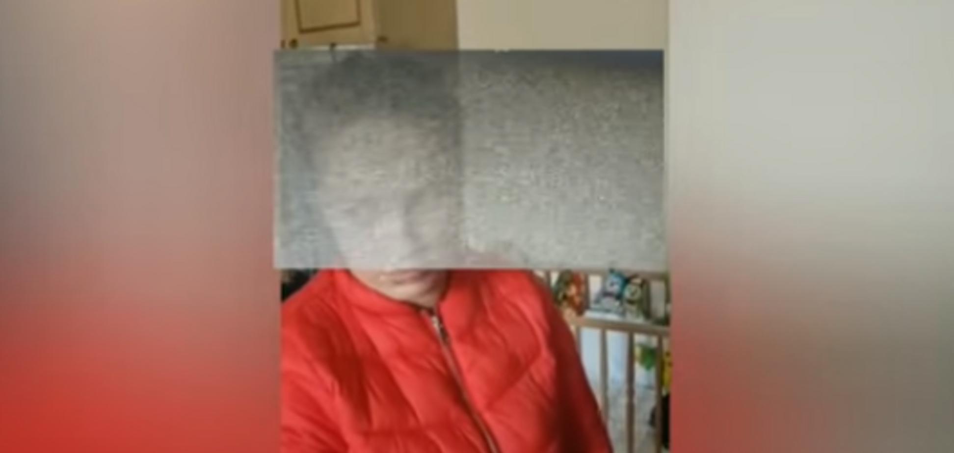 Участница АТО похитила младенца под Киевом: появилось видео задержания