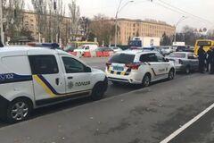 Под Киевом похитили младенца: полиция задержала авто подозреваемых. Видео
