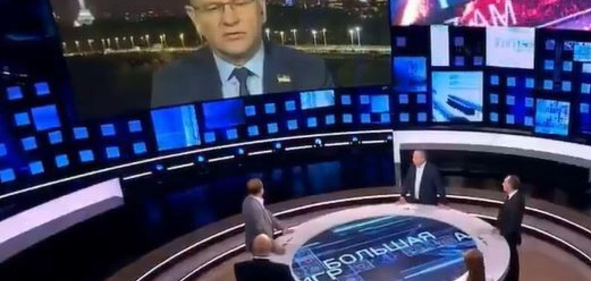'Просто пробачити': 'слуга народу' оскандалився виступом на росТБ