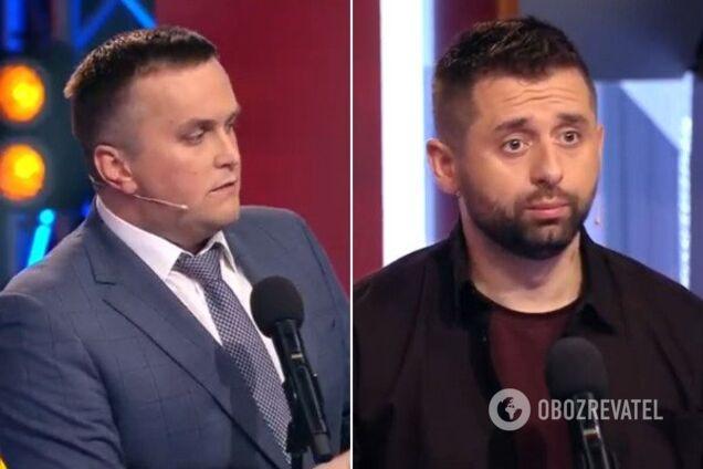 "Назар Холодницкий и Давид Арахамия на ""Право на владу"""