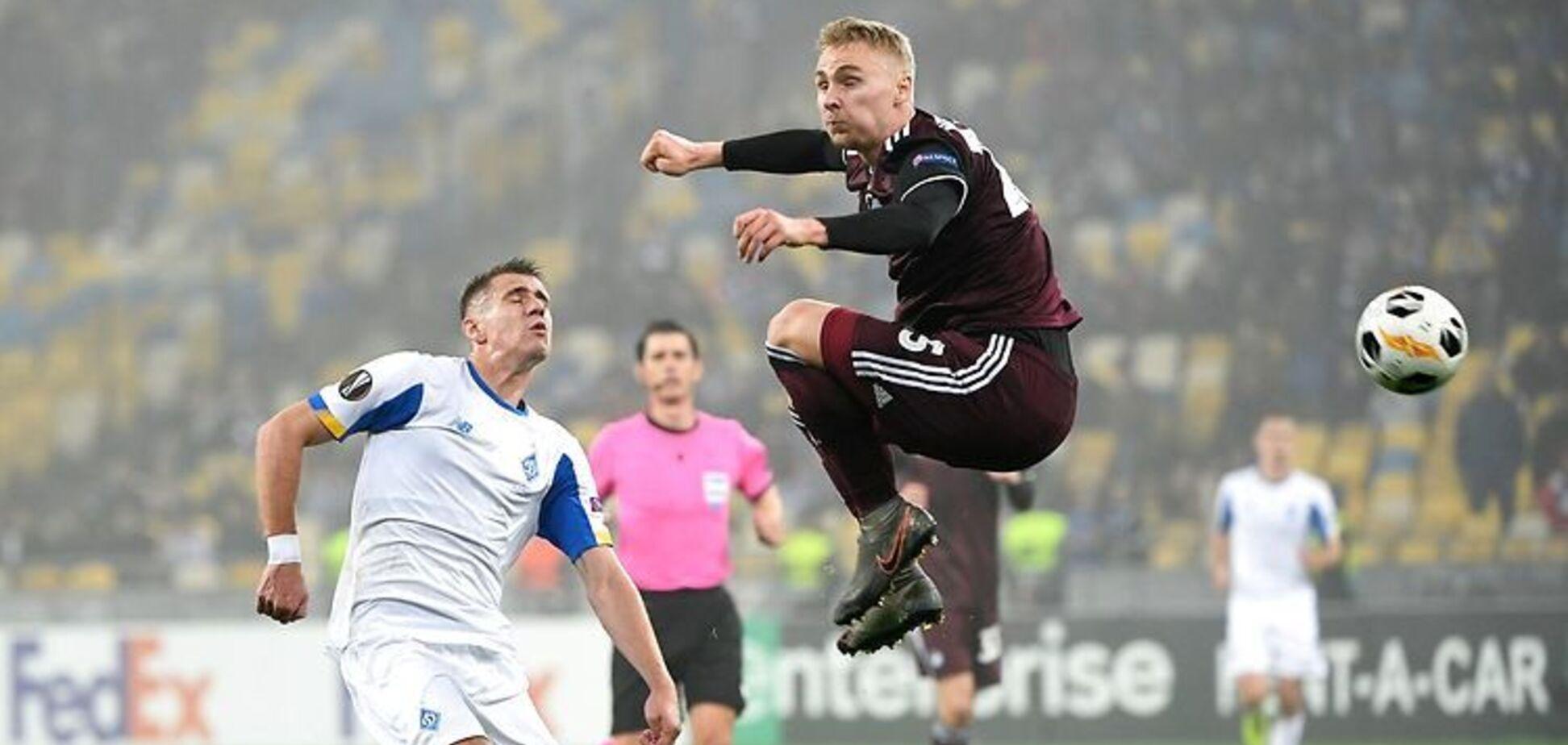 'Динамо' врятувалося у матчі Ліги Європи