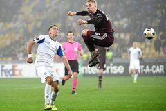 'Динамо' спаслось в матче Лиги Европы