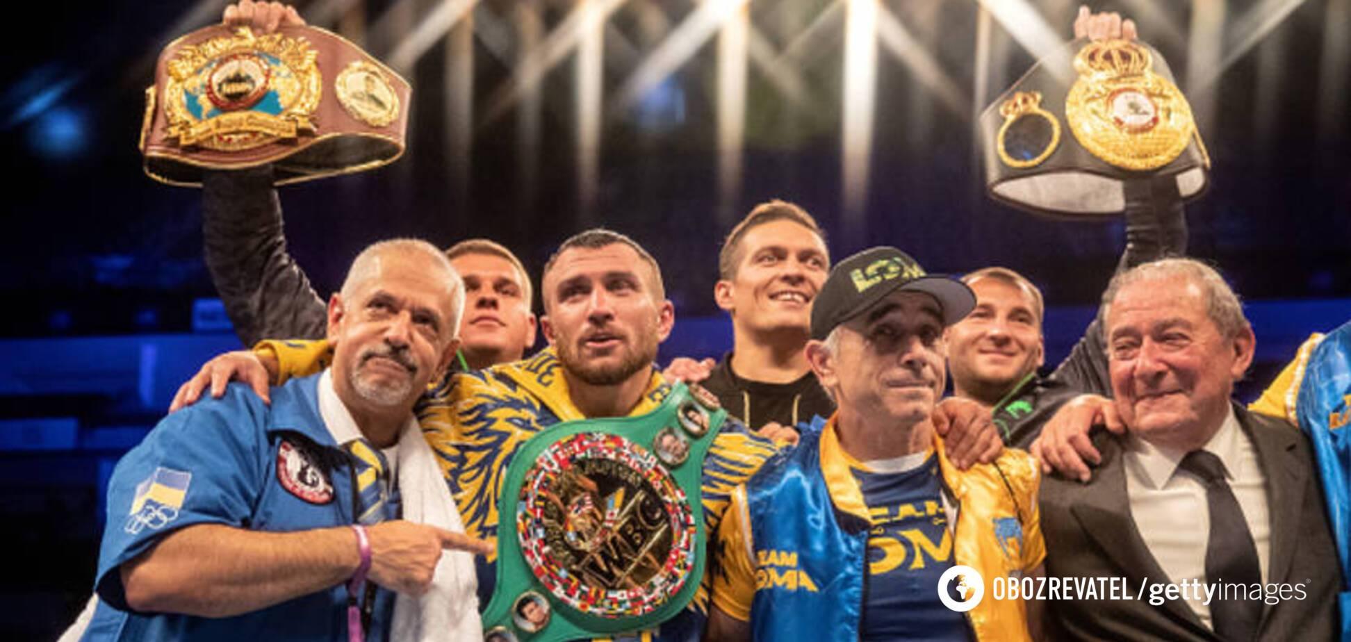 Ломаченко отримав унікальний титул у боксі
