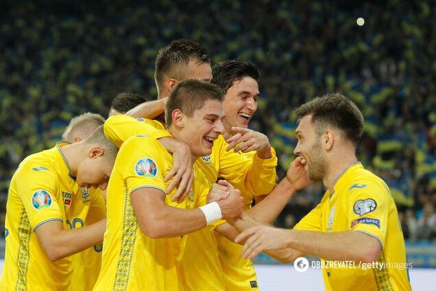 Сборная Украины 14 октября обыграла Португалию – 2:1