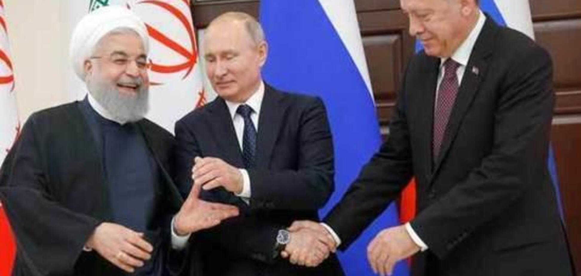 Путин вязнет в болоте