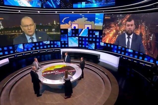 """""""Слуга"""" виправдався за ефір на росТВ із Пушиліним"""