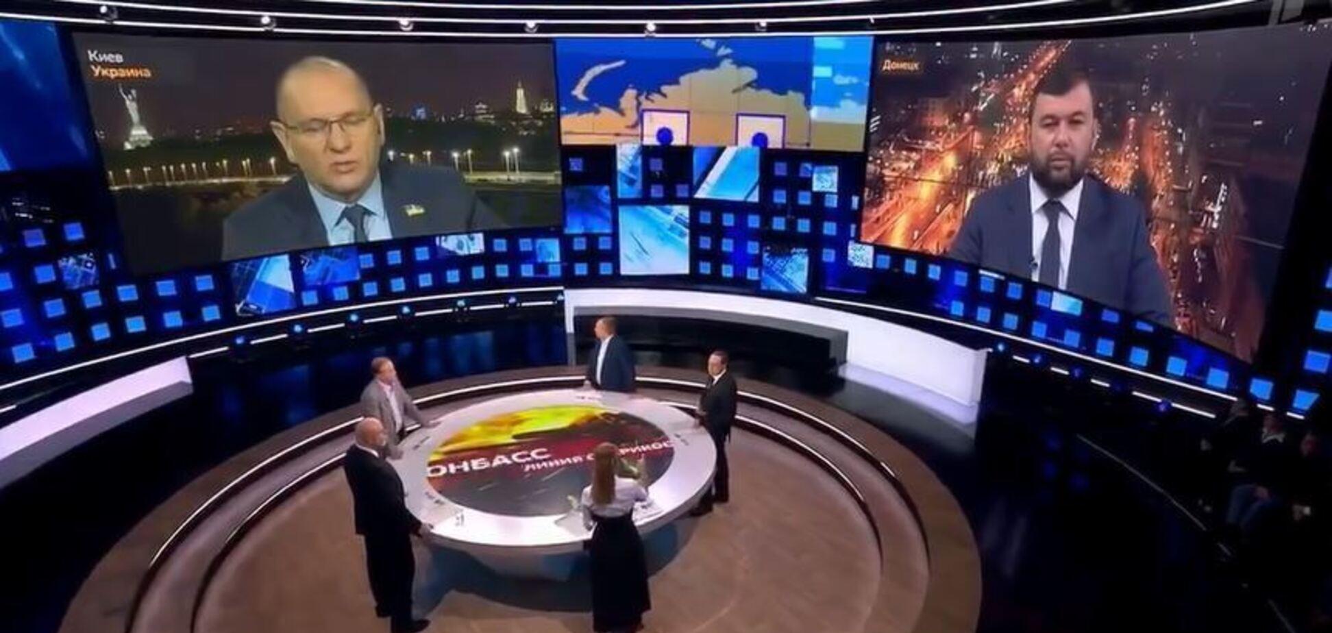 'Слуга' виправдався за ефір на росТВ із Пушиліним