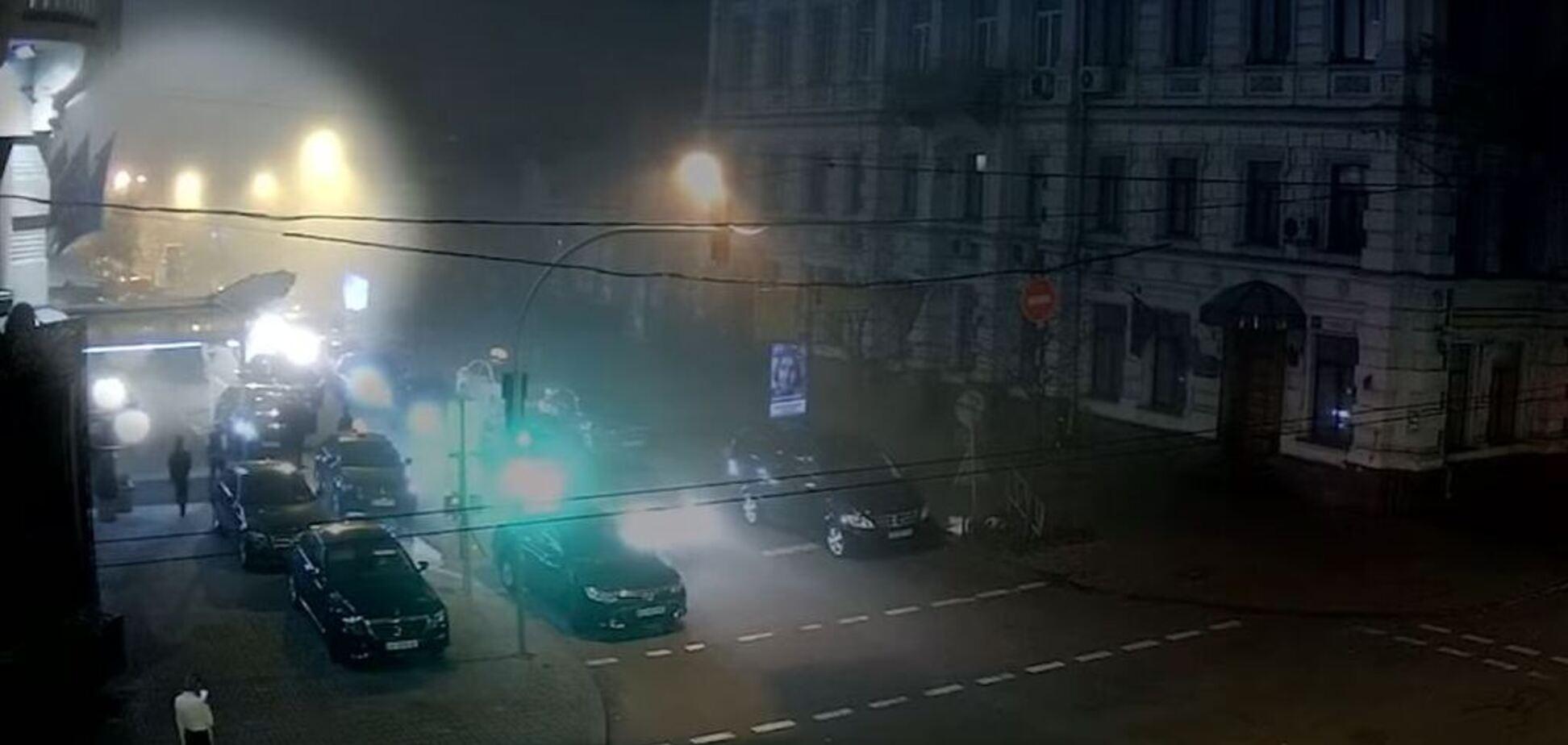 Момент загибелі легендарного 'Сенсея' в Києві потрапив на відео