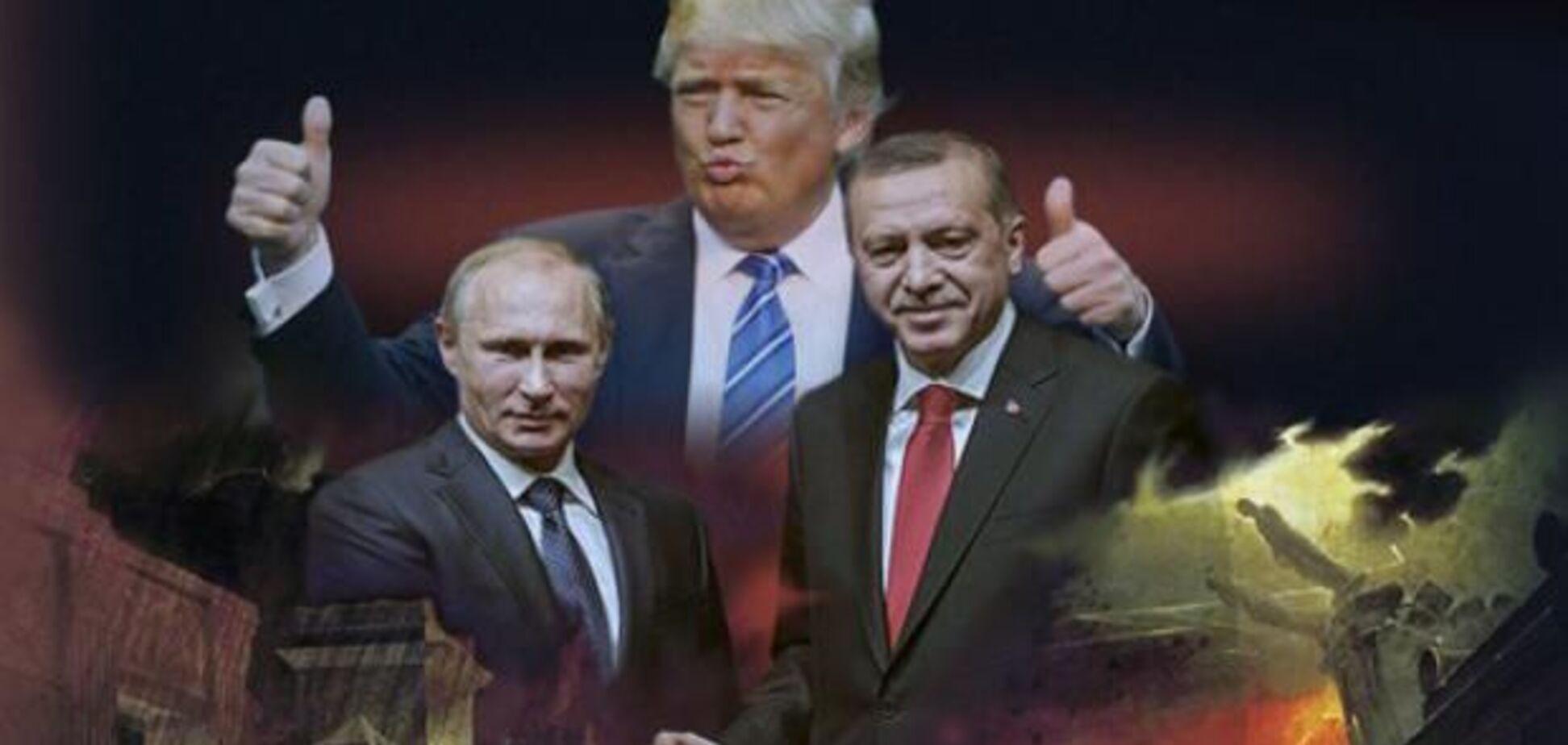 Эрдоган добился больших успехов за счет Путина