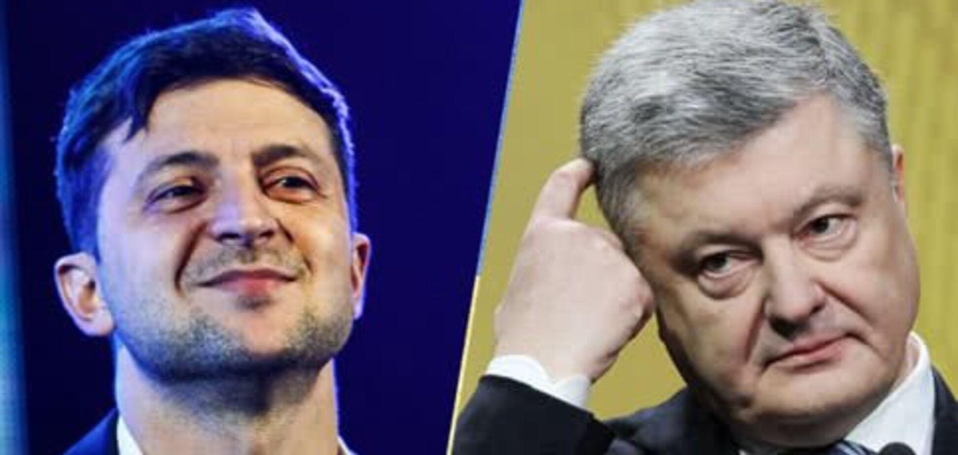 Владимир Зеленкський и Петр Порошенко