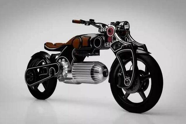 Электрический мотоцикл Curtiss Hades 1