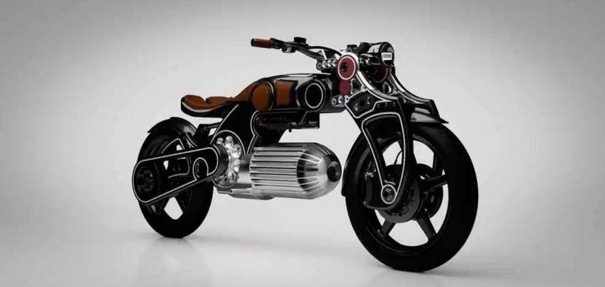 Из титана и карбона в форме пули: в США показали сверхмощный электромотоцикл