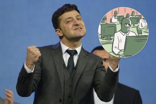 Политтехнолог рассказал о ботофермах Зеленского