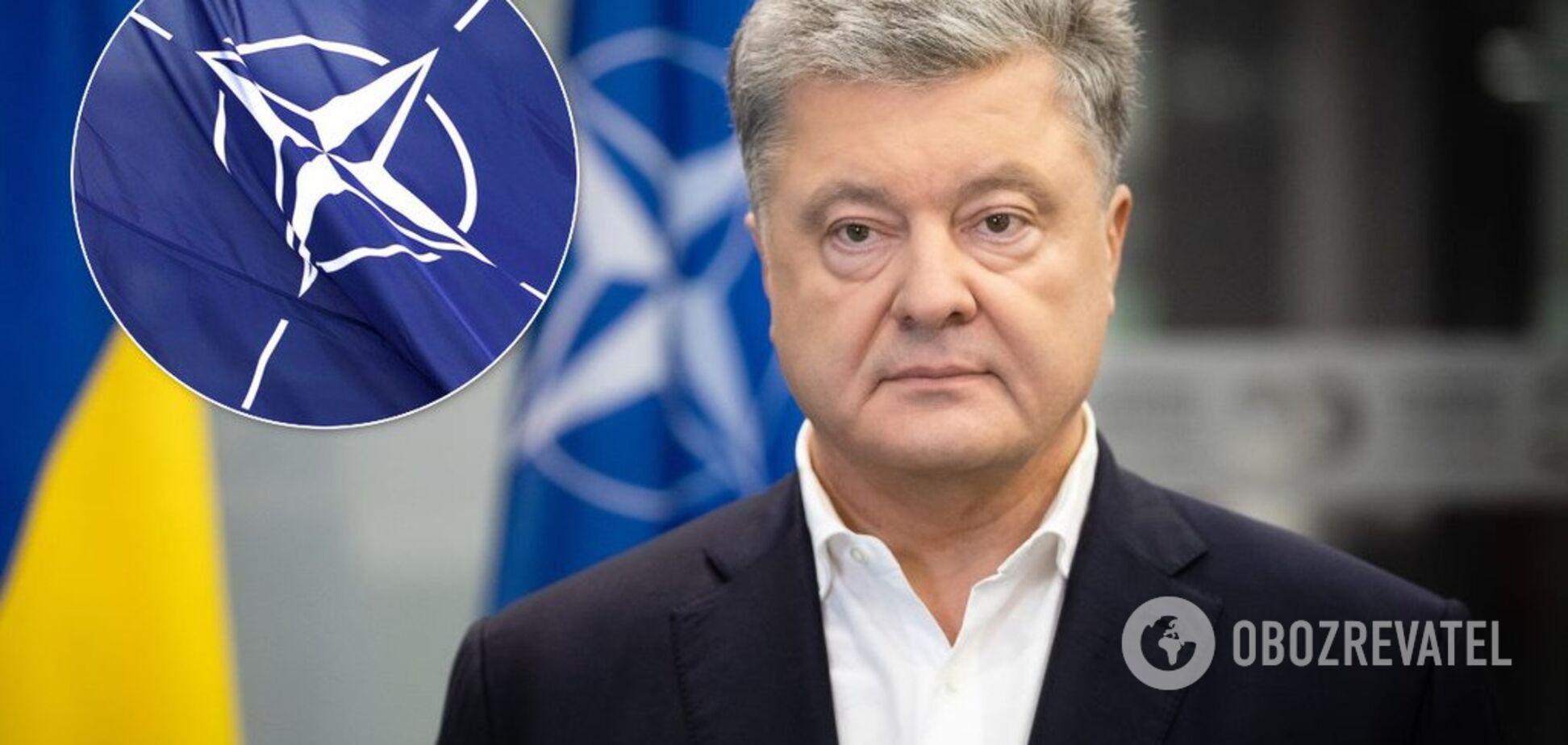 Порошенко призвал Раду объединиться ради НАТО