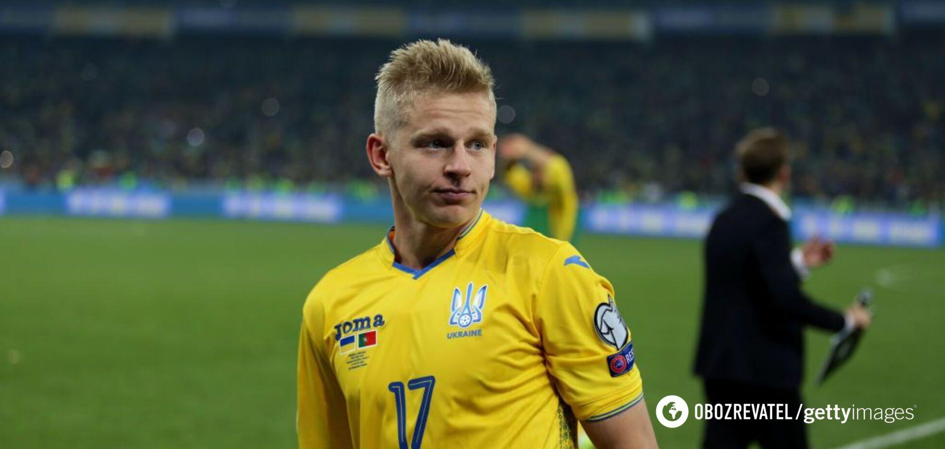 Сборная Украины потеряла лидера перед матчем с Сербией в отборе Евро-2020