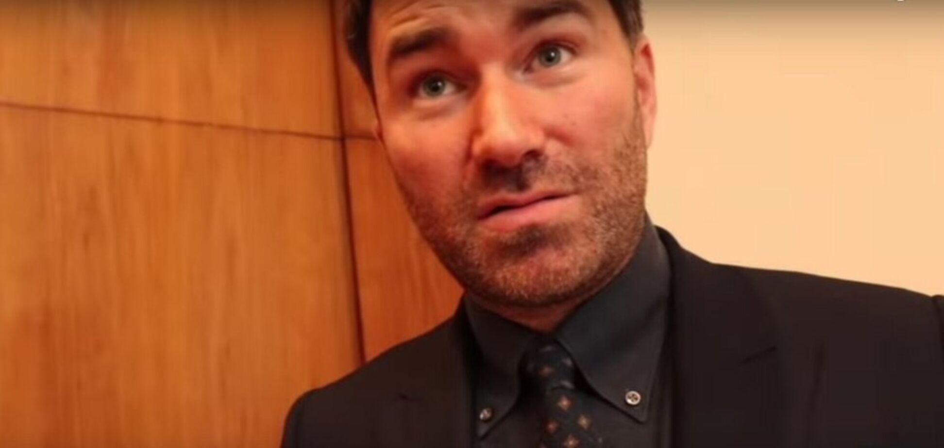 Промоутер Усика назвал ошибкой особый статус Ломаченко