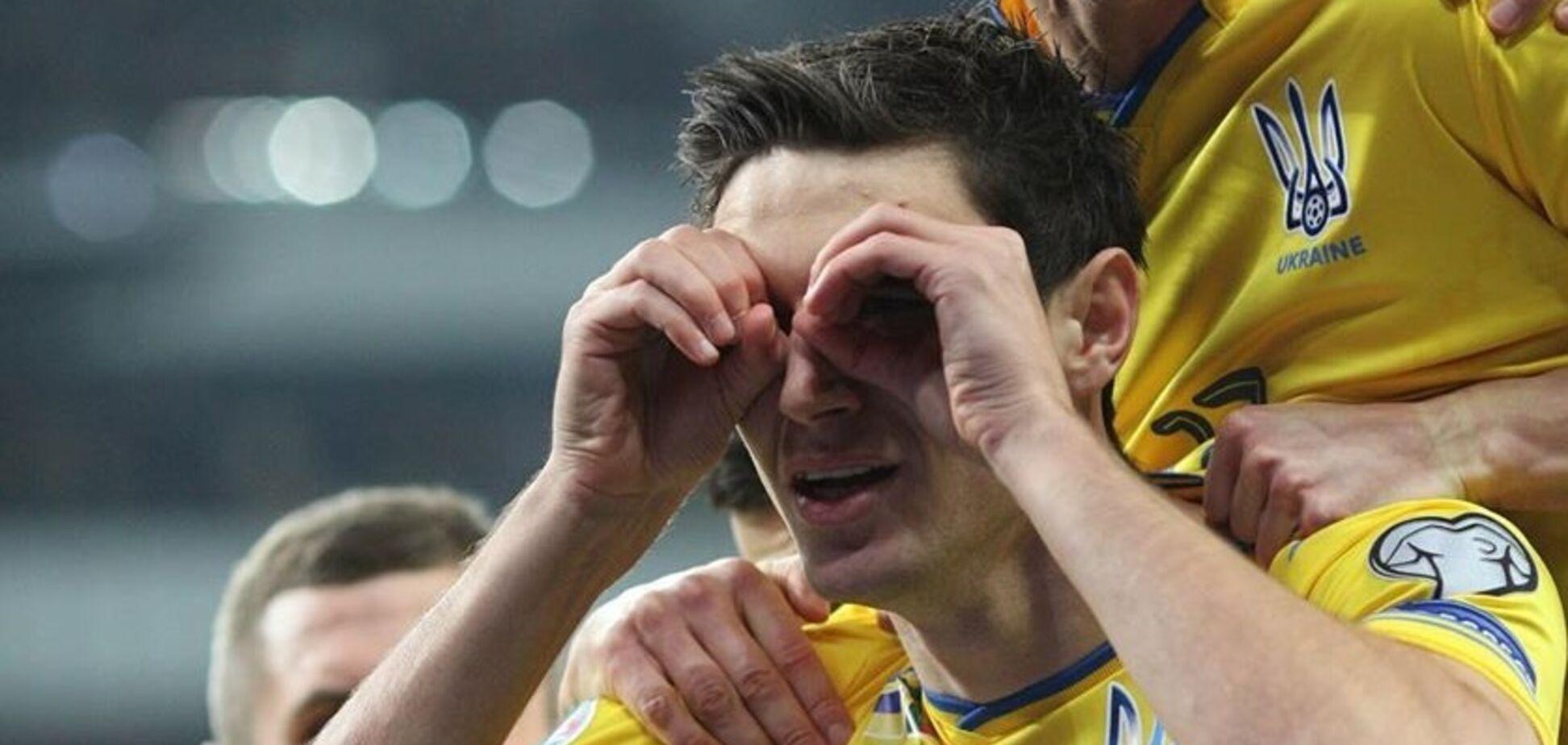 Грязь из России: форвард сборной Украины прокомментировал скандальное высказывание