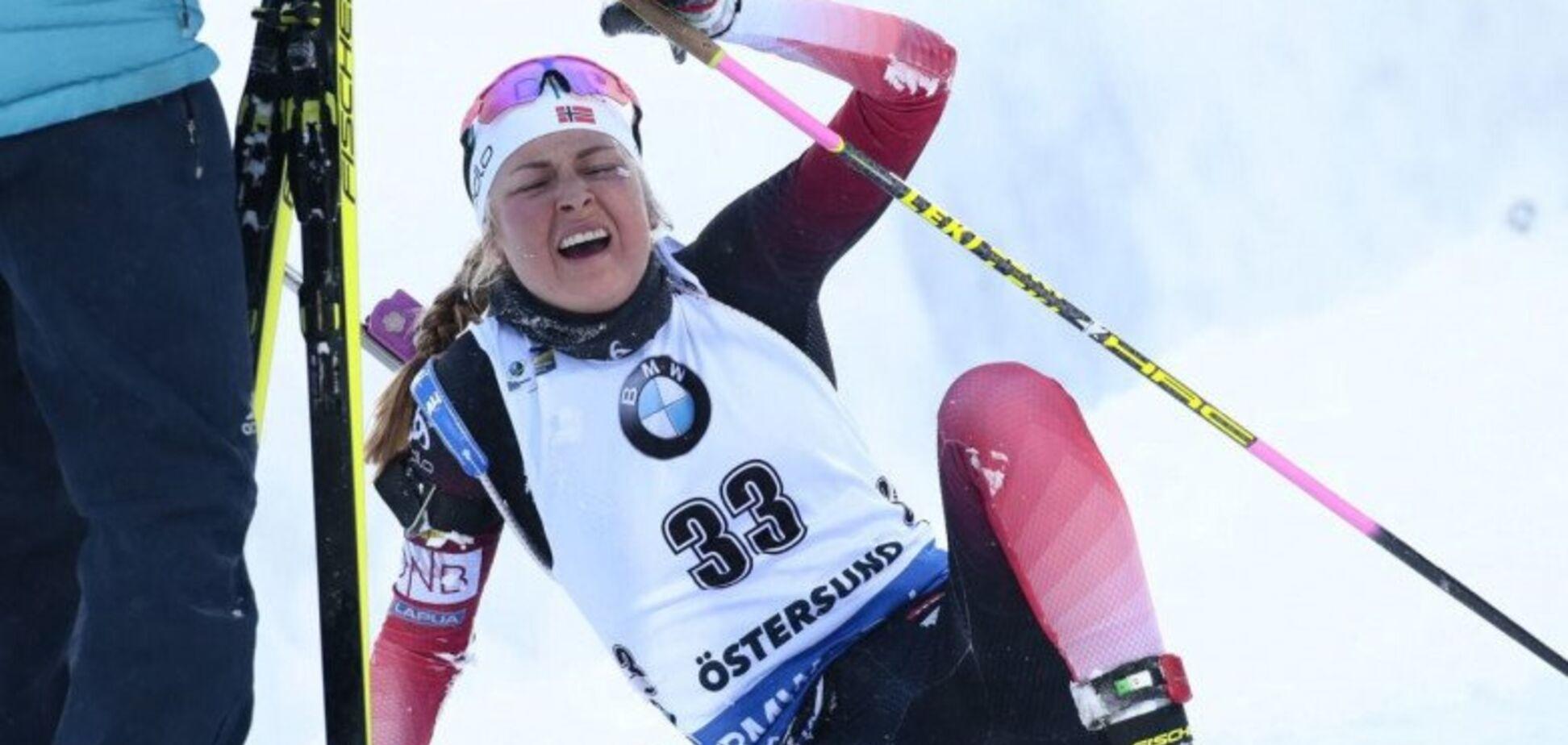 Чемпионка мира по биатлону отравилась навозом