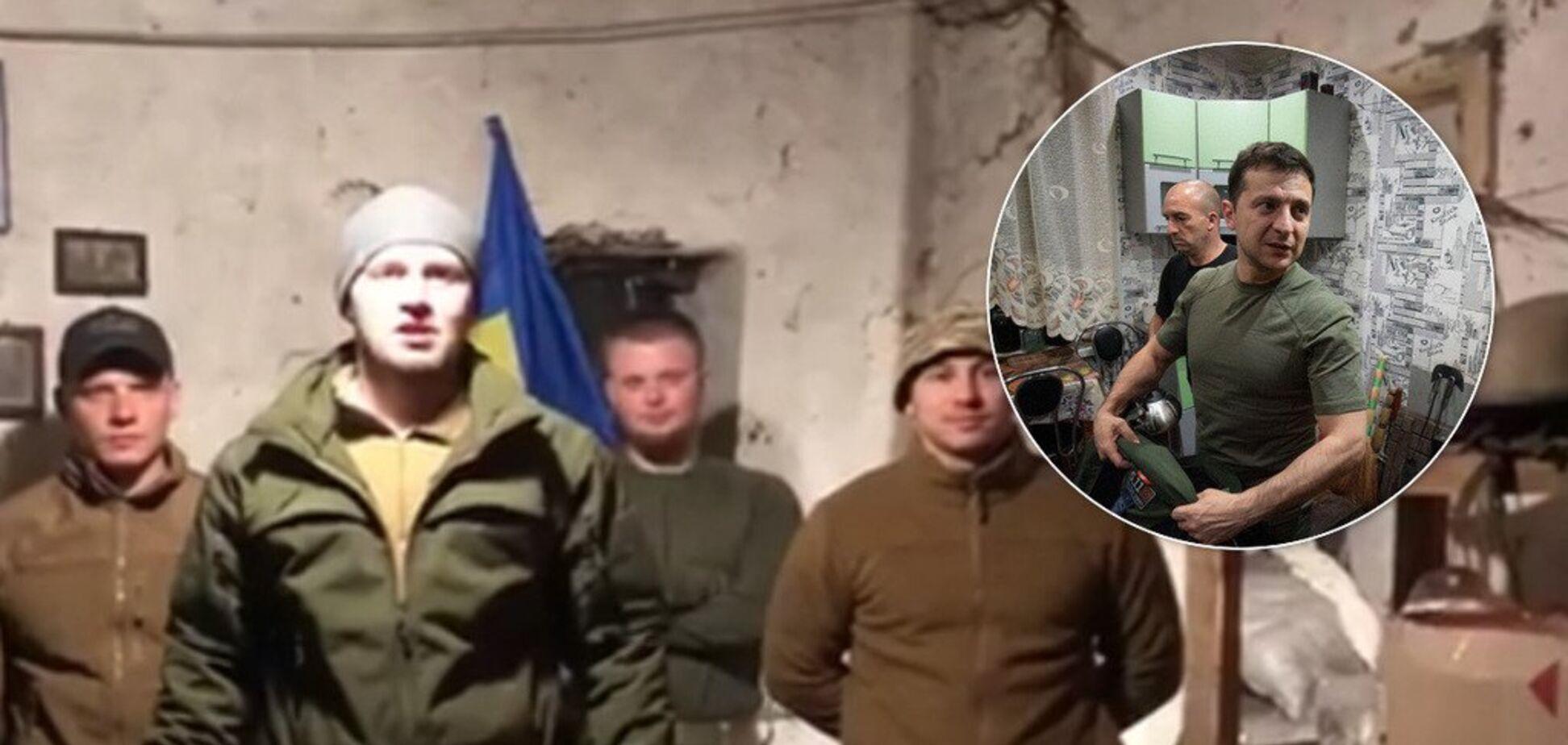'Будут выбивать!' Вооруженные 'нелегалы' в Золотом пошли против Зеленского: видео