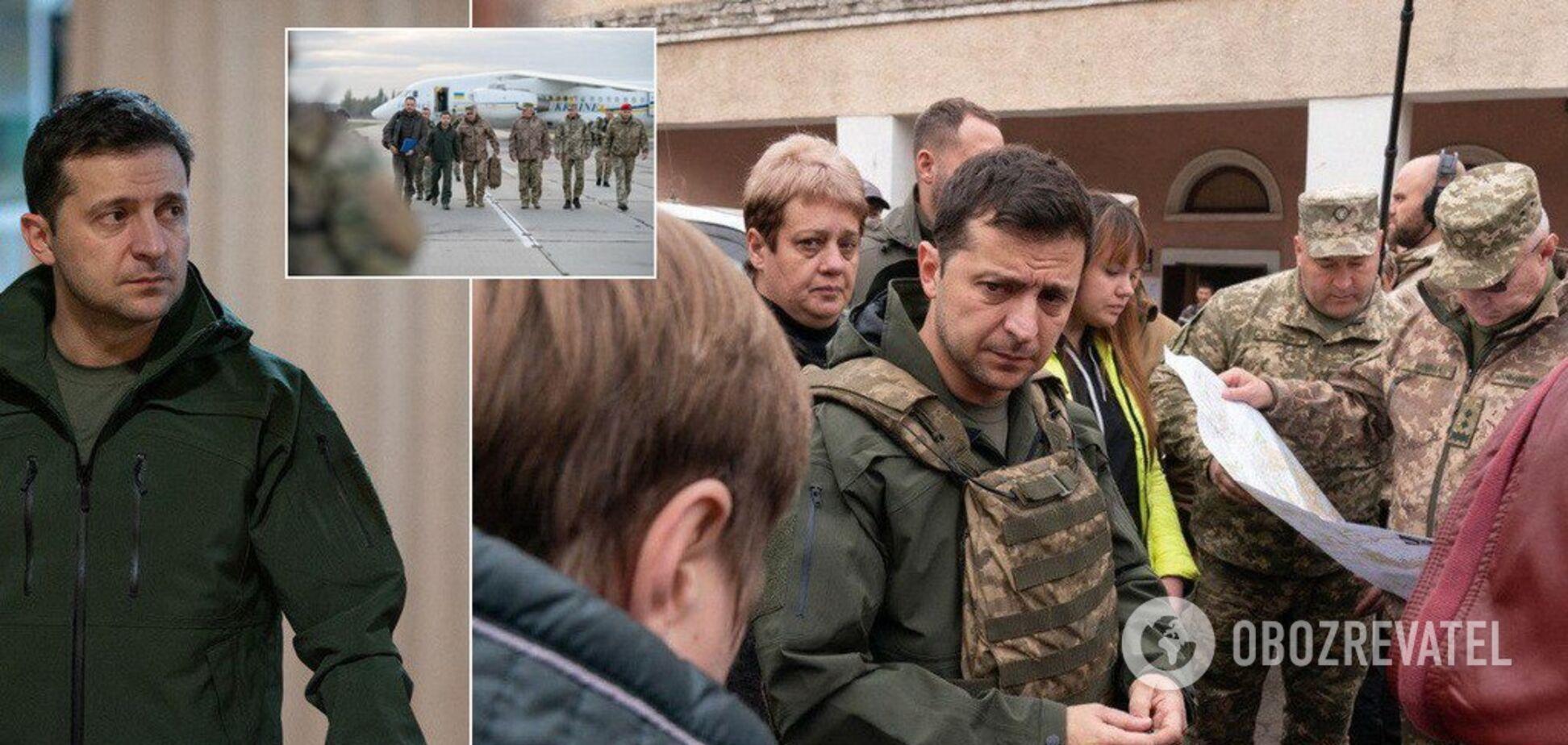 'Я же не лох': Зеленский внезапно прибыл на Донбасс и устроил скандал. Видео