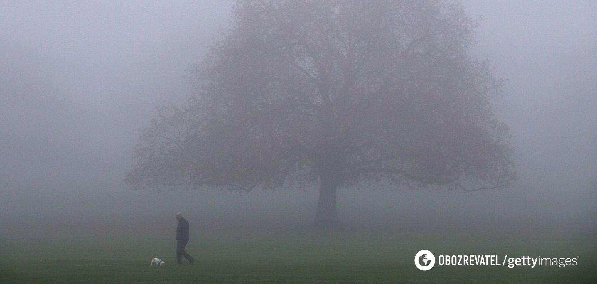 Накриє чотири області: синоптики попередили про туман в Україні