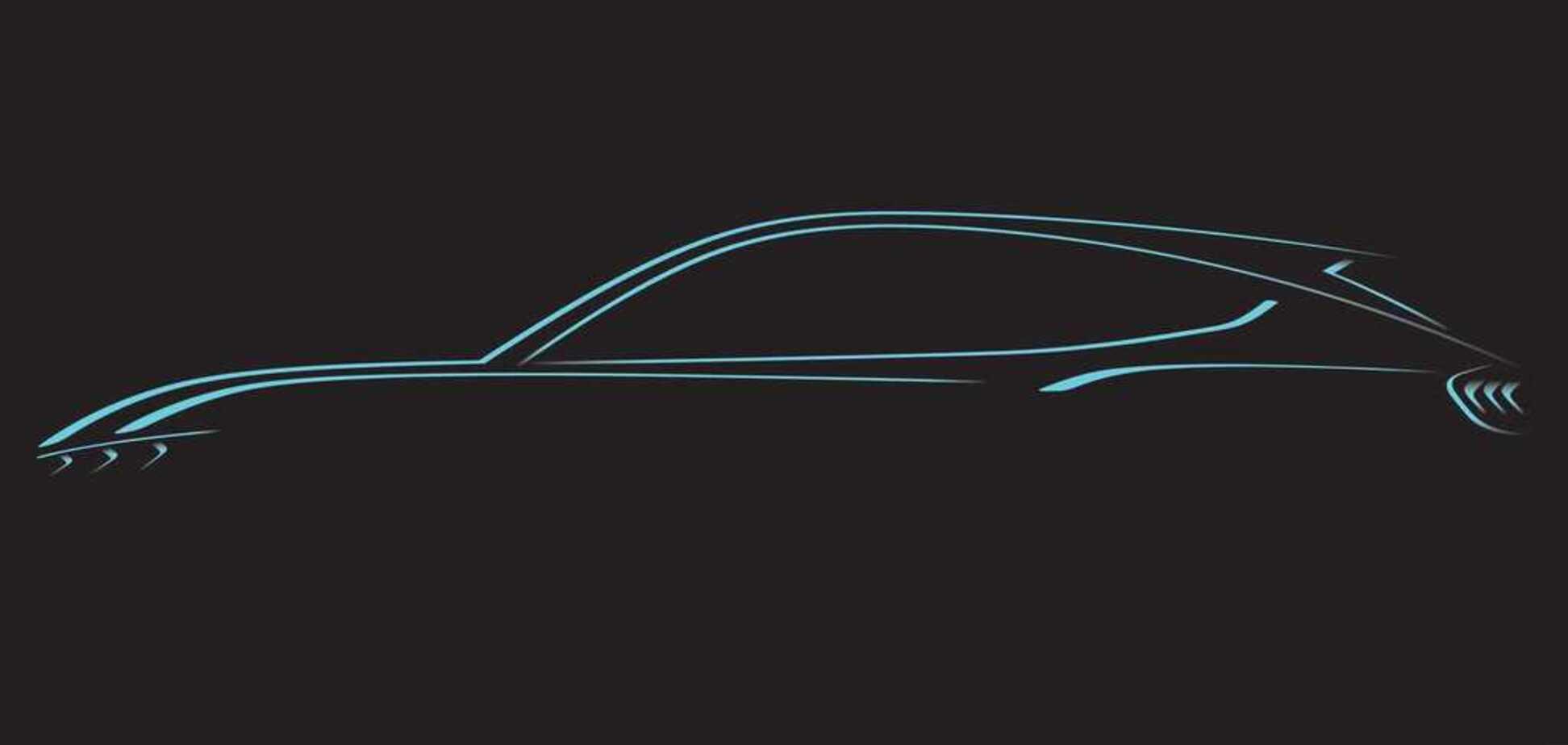 У стилі Mustang: компанія Ford показала обриси нового електромобіля