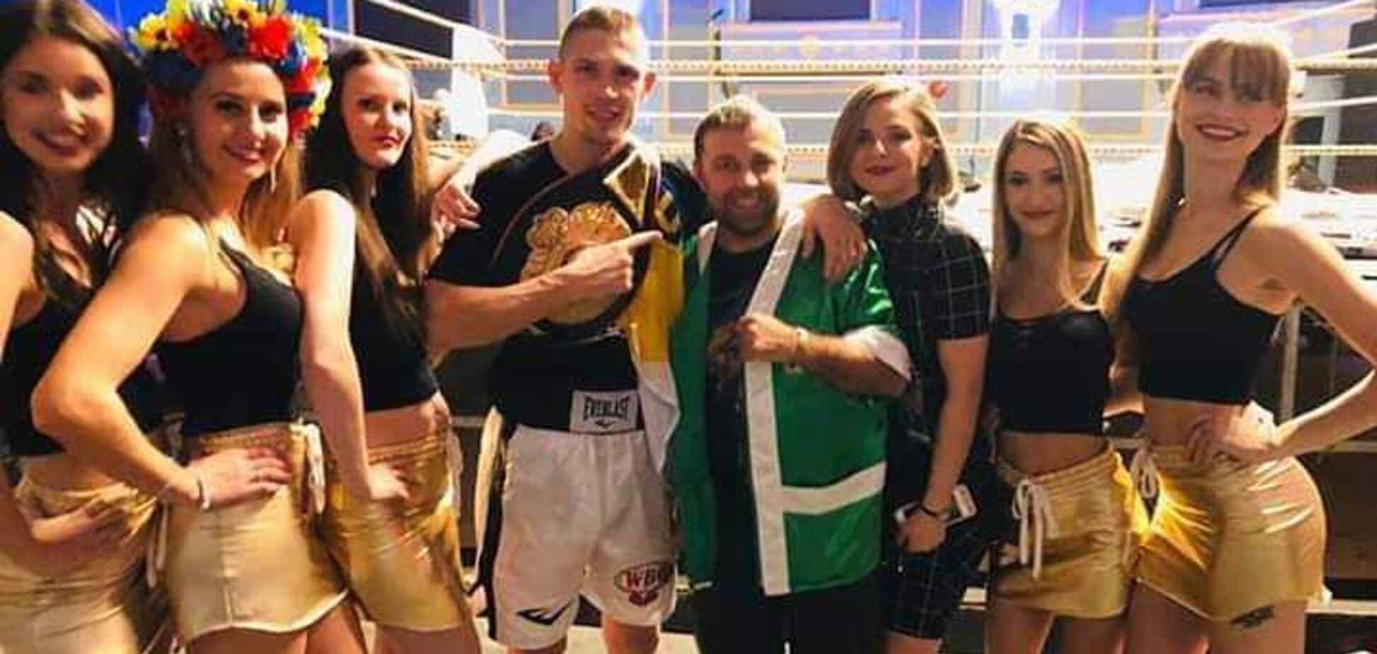 Украинский боксер забил американца в чемпионском бою