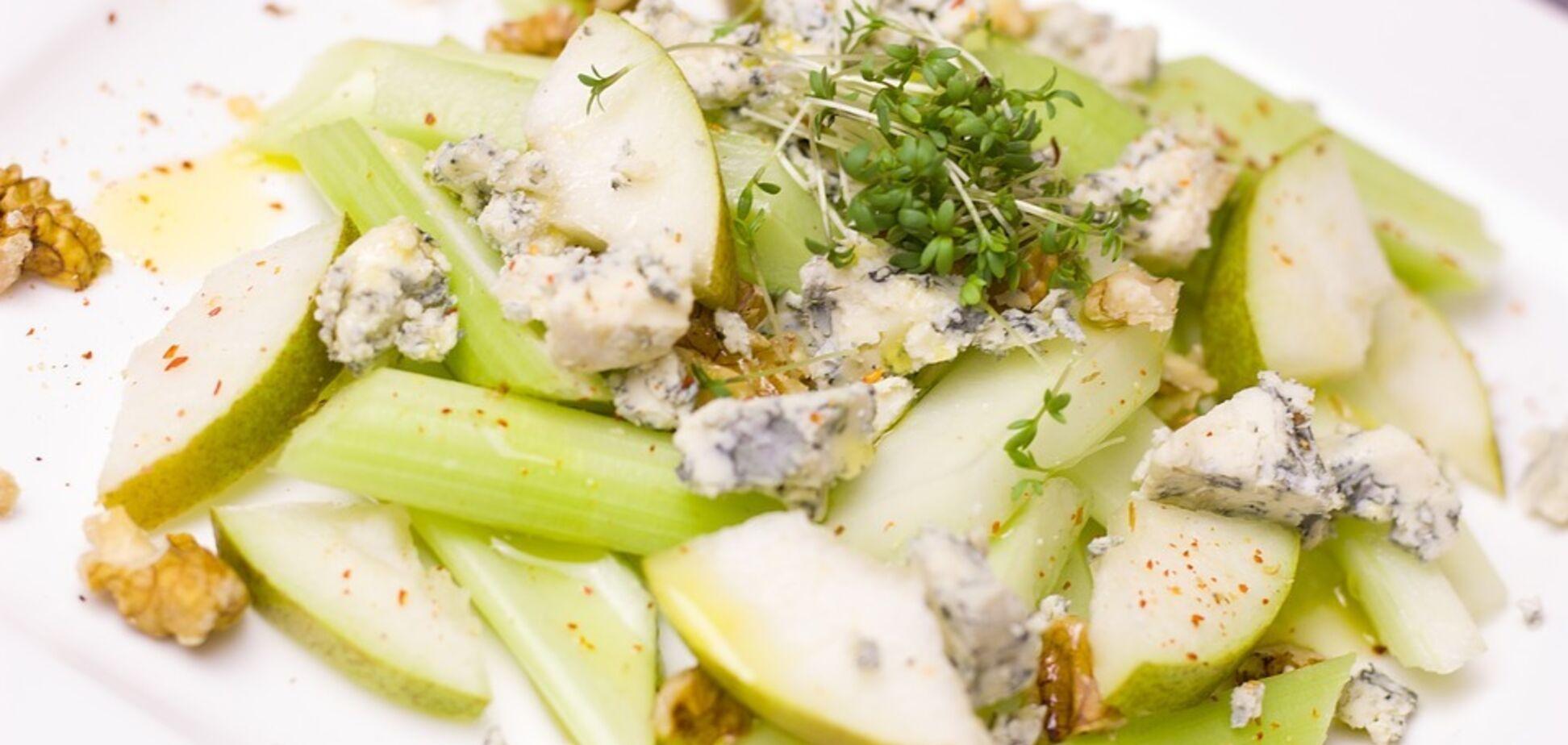 Рецепт изумительного салата с грушей и хамоном