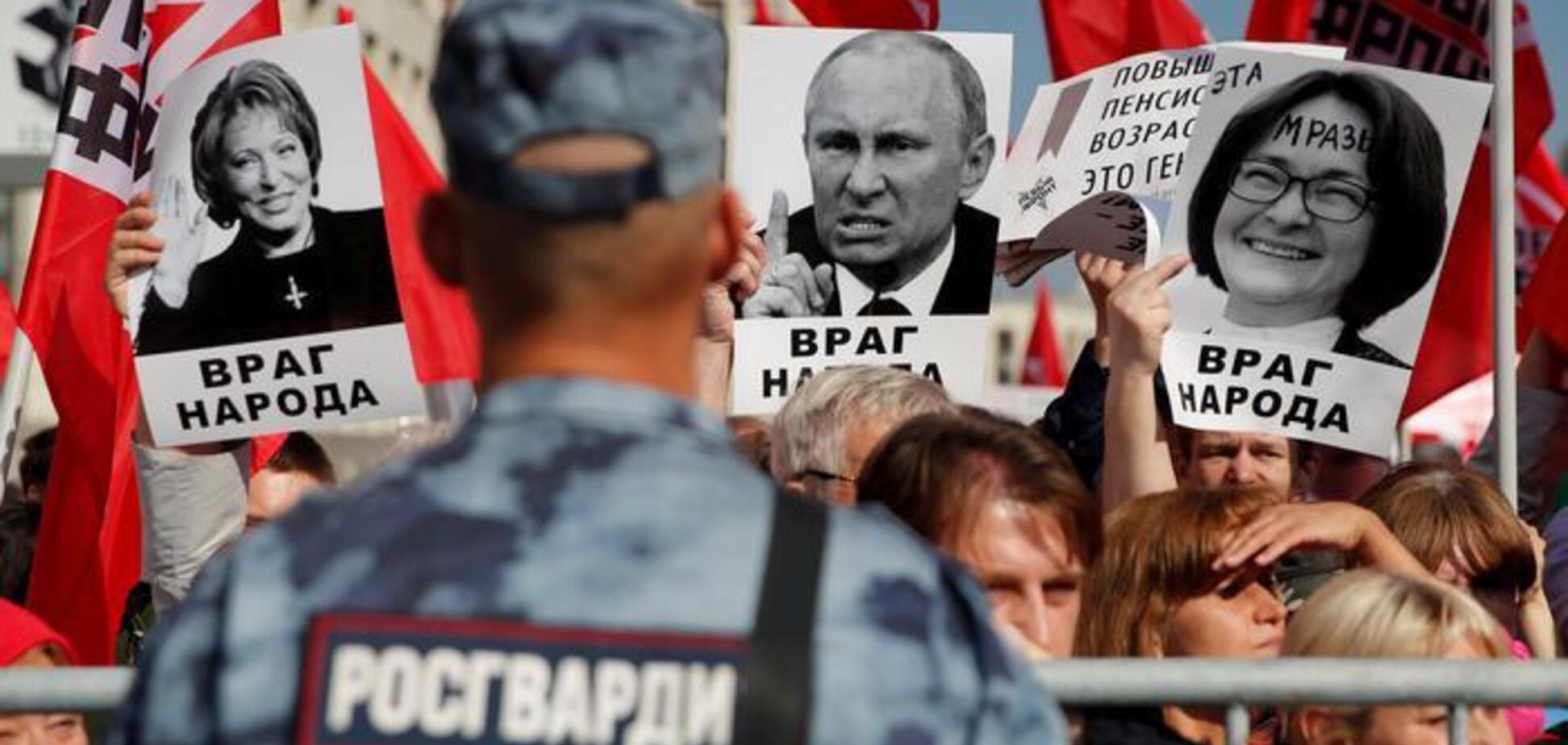 Россия — место, где всего в избытке. Того, что надо, — не было и нет