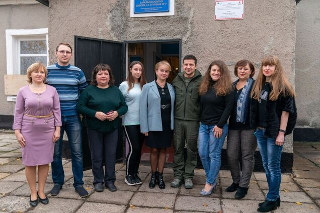 Встреча Зеленского с жителями города