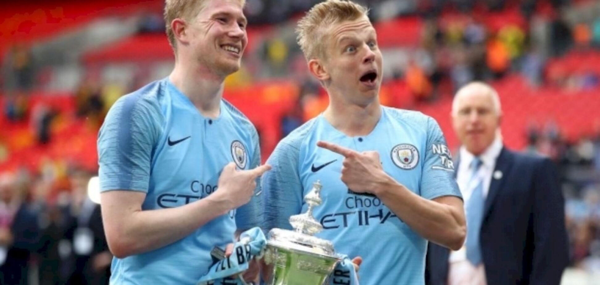 'Скидав в командний чат відео': вчинок Зінченка вразив 'Манчестер Сіті'