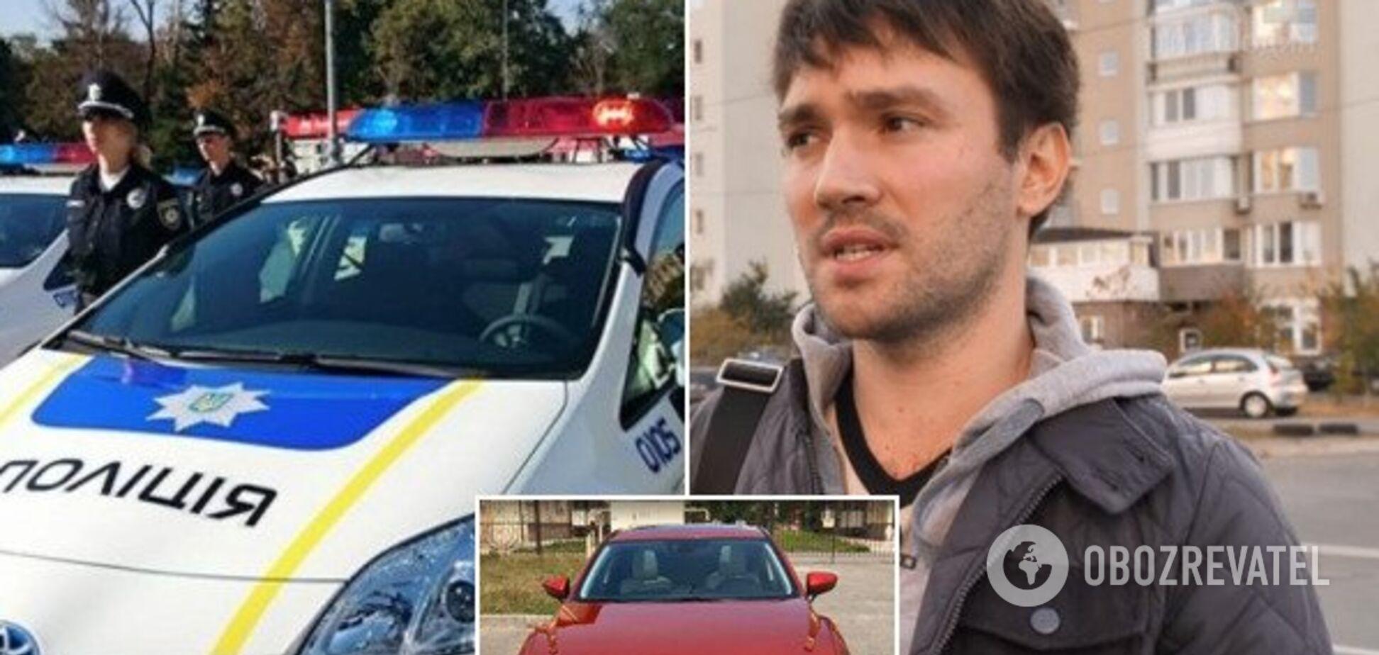 Ездили на работу: как киевлянин нашел свое украденное авто у полицейских