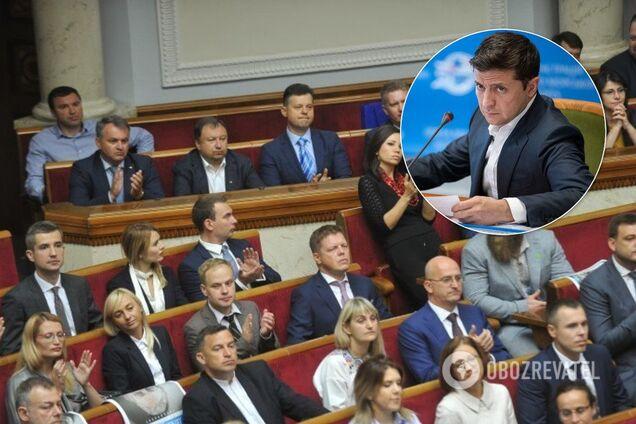 """Зеленский собрал """"Слугу народа"""" на закрытую встречу"""