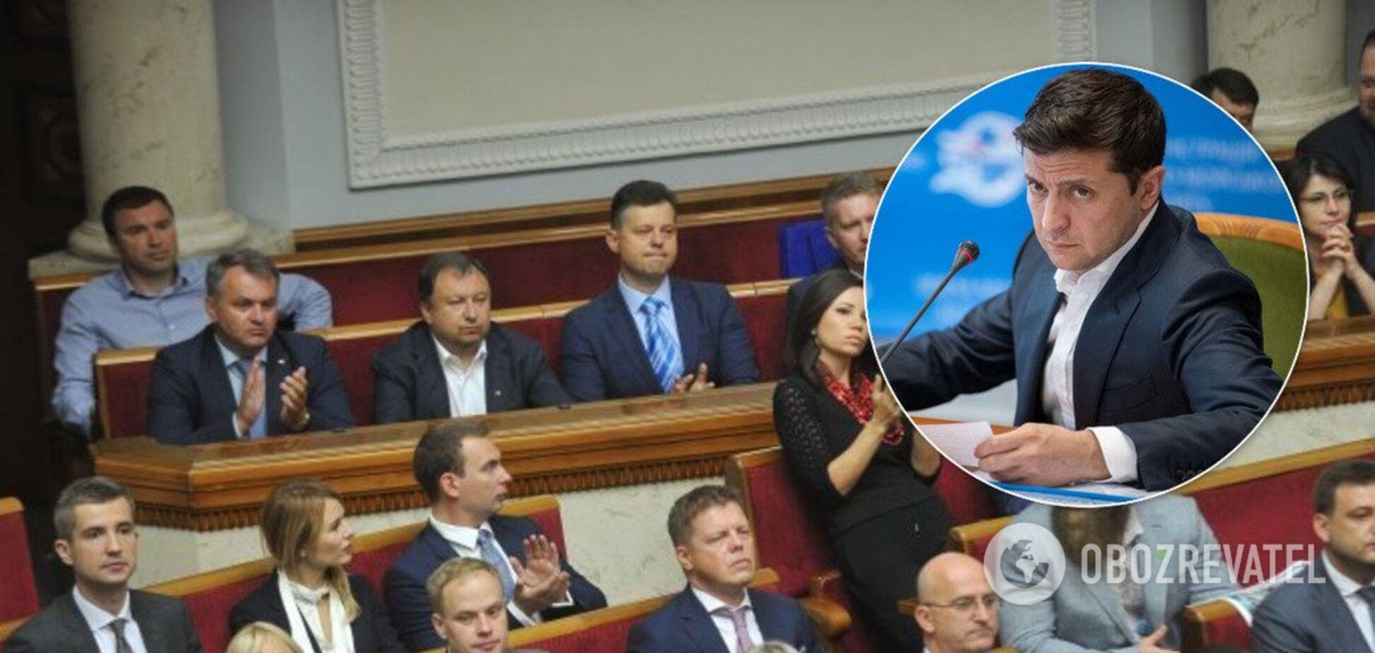Зеленский собрал 'Слугу народа' на закрытую встречу
