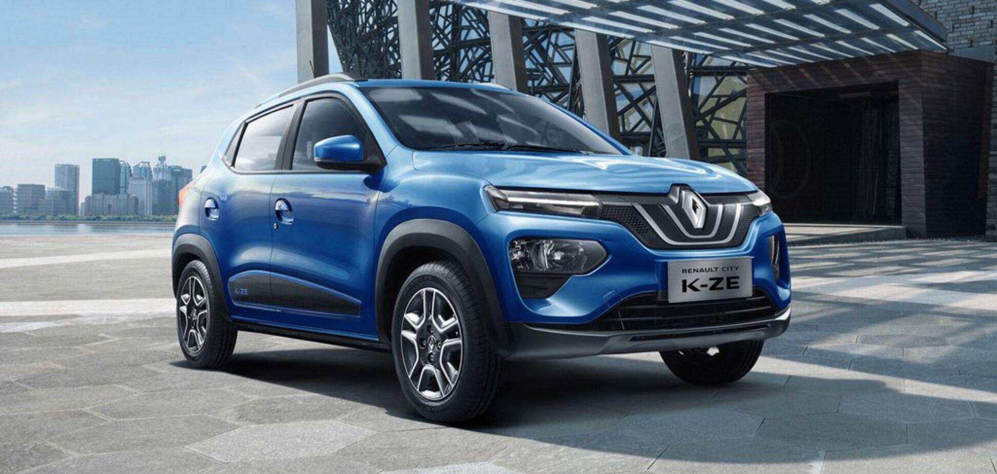 Renault предложит европейцам недорогой электрический кроссовер