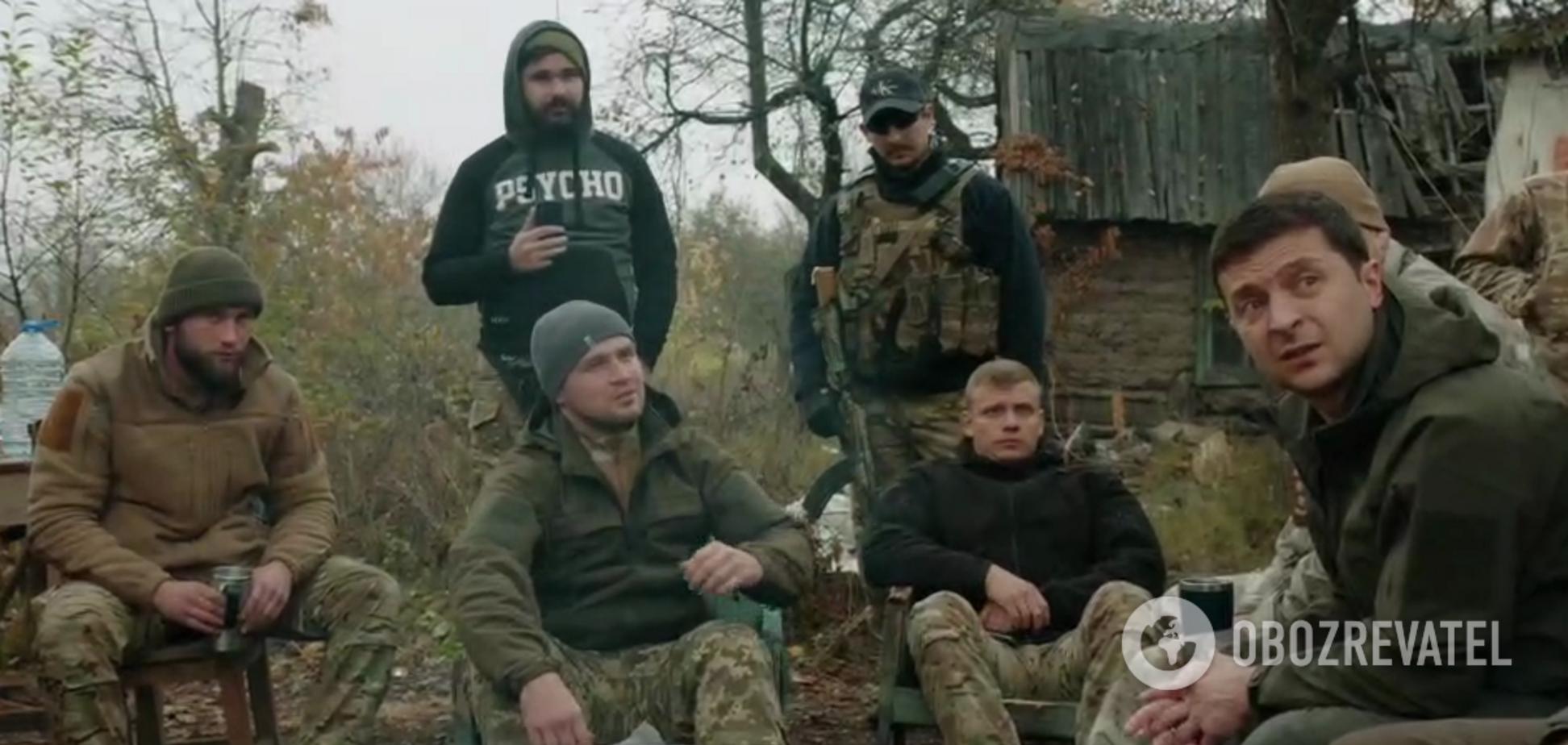 У Золотому обстріляли обеззброєних добровольців, які поскандалили із Зеленським
