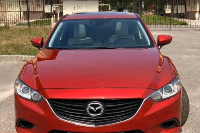 Украденная Mazda 6