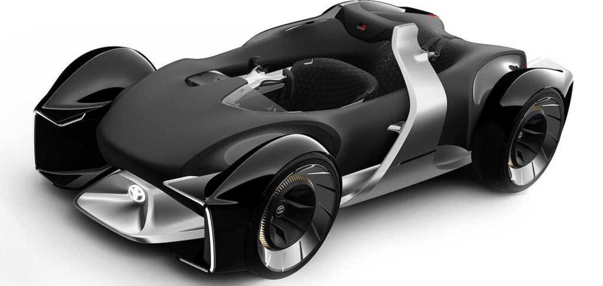 Автопілот та шолом віртуальної реальності: Toyota показала електрокар нового покоління E-Racer