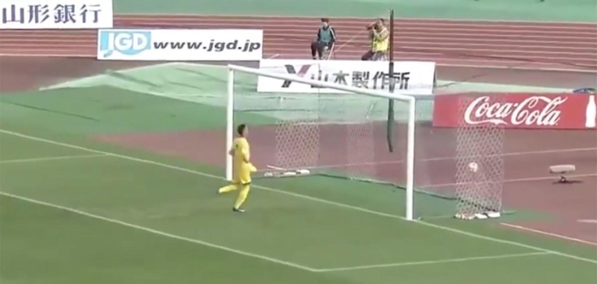 'Ушел за пивом': японский вратарь пропустил два гола с центра поля за одну минуту